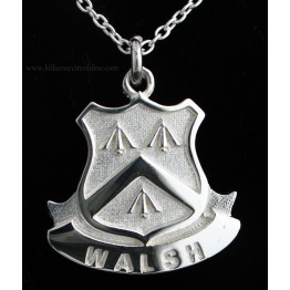 Family Coat of Arms Shield Pendant